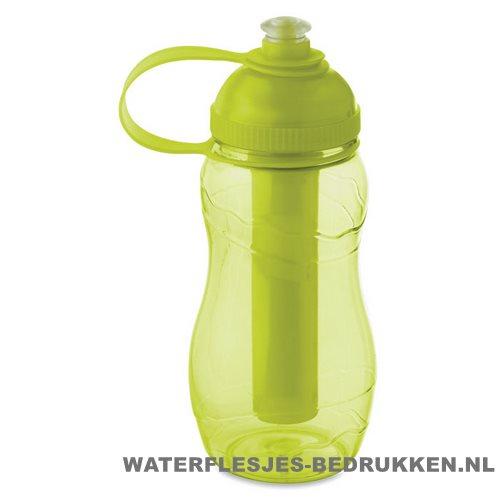 Drinkfles goedkoop bedrukken groen, bidon goedkoop bedrukken