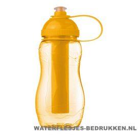 Drinkfles goedkoop bedrukken oranje, bidon goedkoop bedrukken
