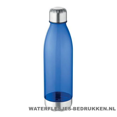 Drinkfles tritan 600ml bedrukken blauw