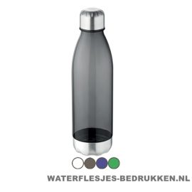 Drinkfles tritan 600ml bedrukken goedkoop, bidon bedrukken, 600ml waterfles