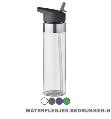 Drinkfles tritan 650ml bedrukken goedkoop, bidon bedrukkken, 600ml waterfles