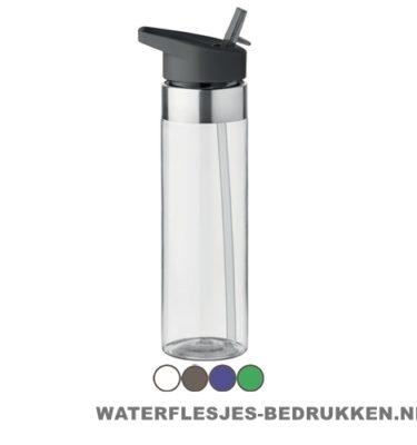 Drinkfles tritan 650ml bedrukken goedkoop, bidon bedrukkken, 600ml waterfles