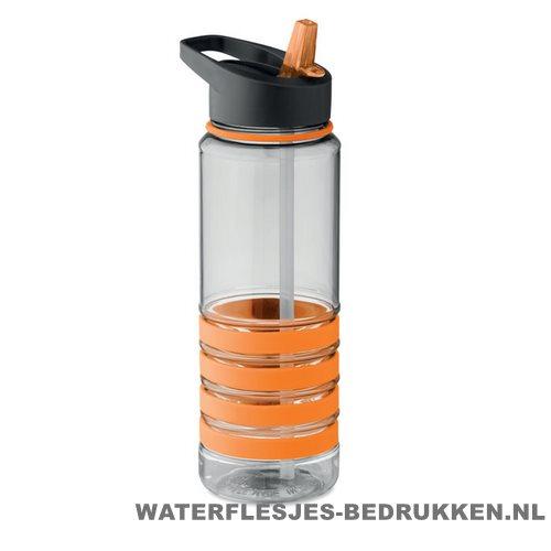 Drinkfles tritan 750ml bedrukken oranje, bidon goedkoop bedrukken