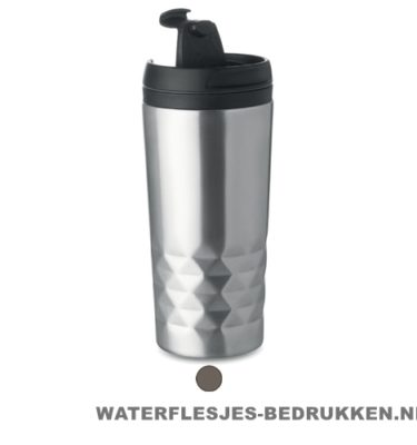 Thermosbeker modern 280ml bedrukken goedkoop