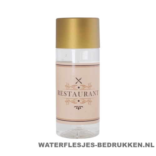 Waterfles Cap'leau 330ml bedrukken goud