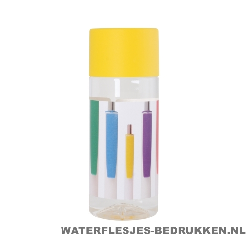 Waterfles Cap'leau 330ml bedrukken oker