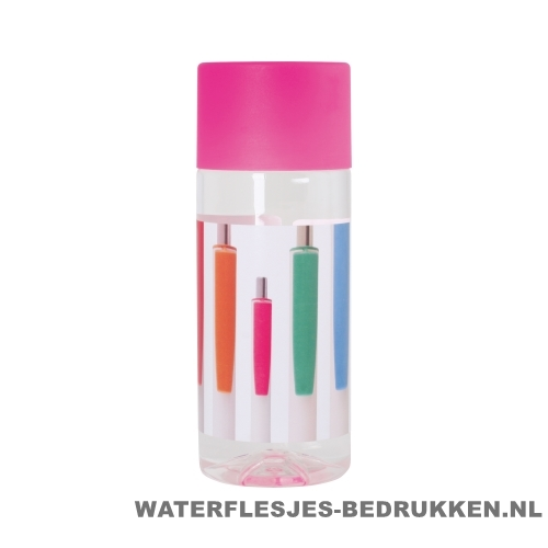 Waterfles Cap'leau 330ml bedrukken roze