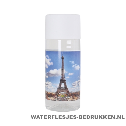 Waterfles Cap'leau 330ml bedrukken wit