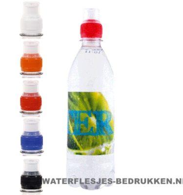 Waterfles bedrukken rond 500ml sportdop, goedkope waterfles