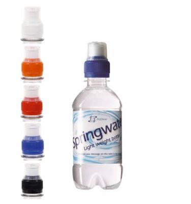 Waterflesje bedrukken 330 ml sportdop goedkoop bestellen