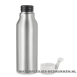 Aluminium drinkfles bedrukken witte