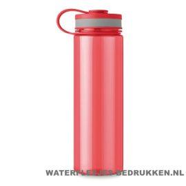 Bidon XL bedrukken rood