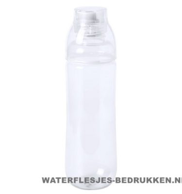 Bidon drinktuit 750ml bedrukt transparant