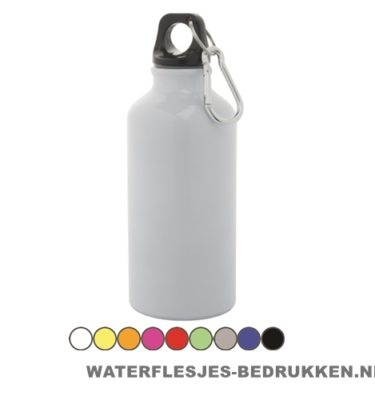 Bidon karabijnhaak medium 400ml bedrukt goedkoop