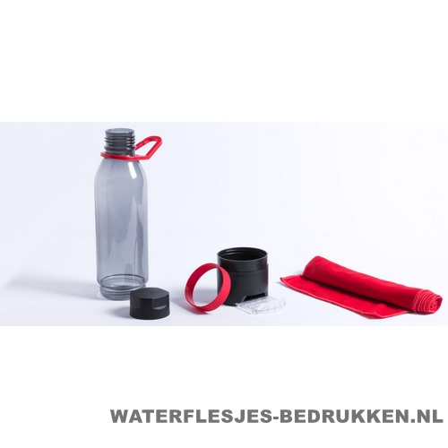 Bidon multifunctioneel 650ml bedrukken setje