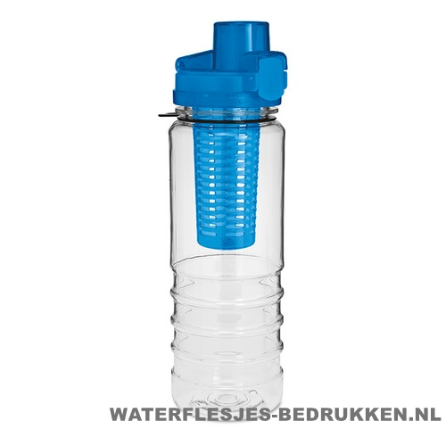 Drinkfles fruitcompartiment bedruk met opdruk