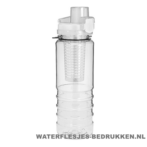 Drinkfles fruitcompartiment bedrukken budget