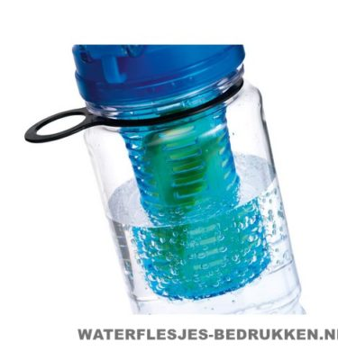 Drinkfles fruitcompartiment bedrukken voorbeeld