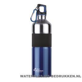 Luxe thermosfles 750ml bedrukken blauw