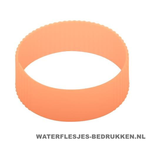 Reisbeker goedkoop multicolor bedrukken silliconen band oranje