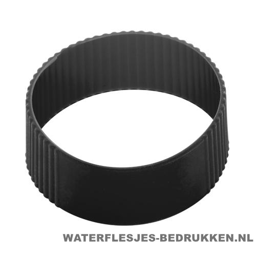 Reisbeker goedkoop multicolor bedrukt zwart silliconen band