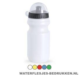 Sport bidon plastic 550ml met logo goedkoop