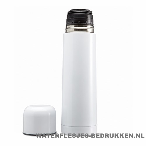 Thermos fles bedrukken dop