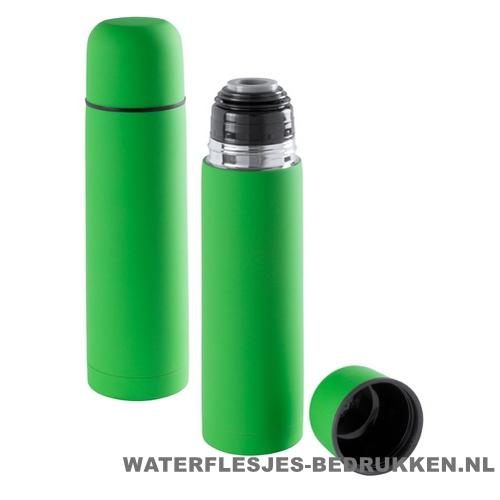 Thermosfles goedkoop 500ml bedrukken groen