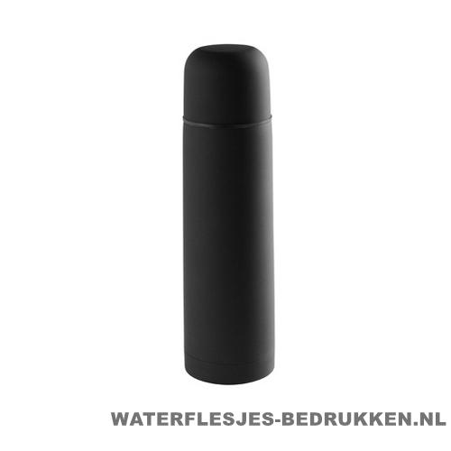 Thermosfles goedkoop 500ml bedrukken zwart