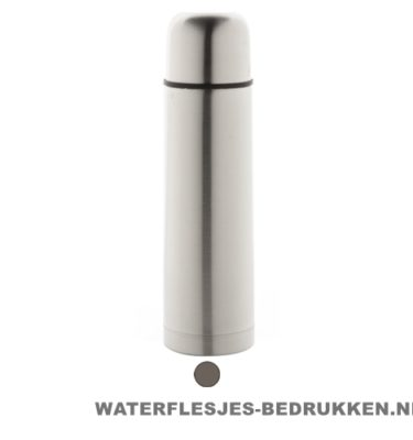 Thermosfles goedkoop RVS 500ml bedrukken klassiek goedkoop