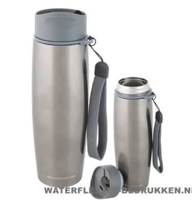 Thermosfles goedkoop modern 500ml bedrukken lanyard