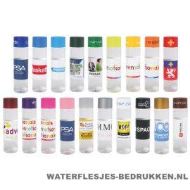 Ronde waterfles Cap'leau 550ml bedrukken alle kleuren