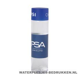 Ronde waterfles Cap'leau 550ml bedrukken donkerblauw