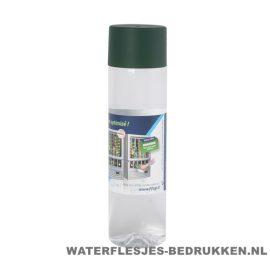 Ronde waterfles Cap'leau 550ml bedrukken donkergroen