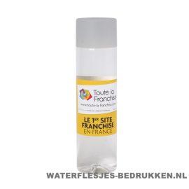 Ronde waterfles Cap'leau 550ml bedrukken lichtgrijs