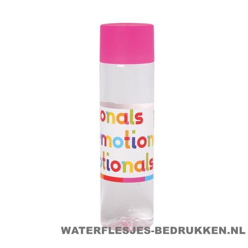 Ronde waterfles Cap'leau 550ml bedrukken roze
