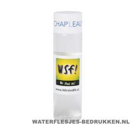 Ronde waterfles Cap'leau 550ml bedrukken wit