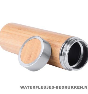Sport bidon bamboe 500 ml goedkoop