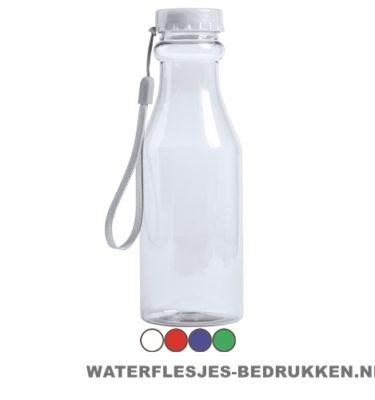 Sport bidon transparant 500 ml bedrukken goedkoop drinkbeker