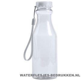 Sport bidon transparant 500 ml bedrukken goedkoop wit