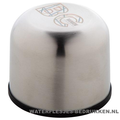 Thermosfles goedkoop klassiek 500ml bedrukt dop