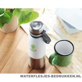 Thermosfles robuust 600ml bedrukken duurzame fles